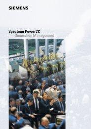 Spectrum PowerCC Generation Management - siemens