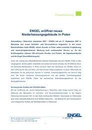 Pressetext (pdf) - Engel Austria