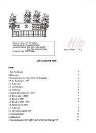Anlage HIP Jahresbericht 2005