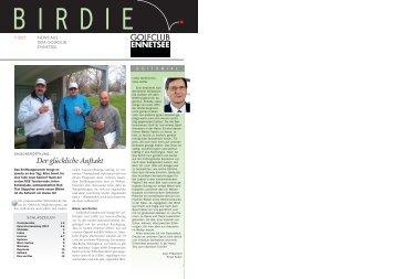 Birdie 1-12 - Golf Club Ennetsee