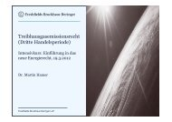 Dr. Martin Hamer, Freshfields Bruckhaus Deringer - enreg.eu