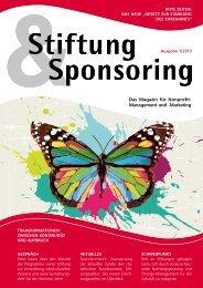 Stiftung & Sponsoring – Das Magazin für ... - Wilken Entire AG
