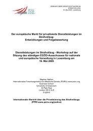 Der europäische Markt für privatisierte Dienstleistungen im ... - EPSU