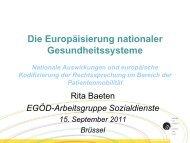 Vorherige Genehmigung - EPSU