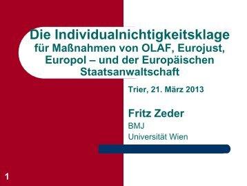 Die Individualnichtigkeitsklage - Era-comm.eu