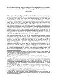 Challenges for the Future Development of EU non-Discrimination Law-