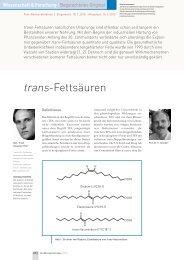 trans-Fettsäuren