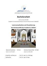 Bachelorarbeit - Erzabtei St. Ottilien