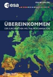 Konvention zur Gründung einer Europäischen - ESA