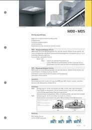 MDD - MDS - ETAP Lighting