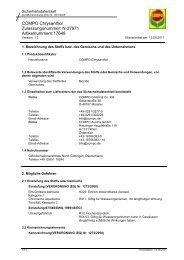 COMPO Chrysanthol Zulassungsnummer: N-37971 Artikelnummern ...
