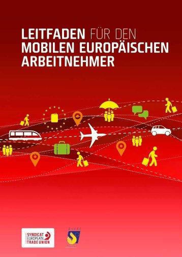 Leitfaden für den mobiLen europäischen arbeitnehmer - ETUC