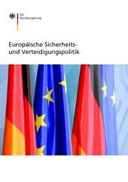 Europäische Sicherheits- und Verteidigungspolitik - EU2007.de