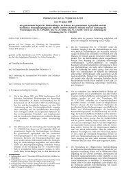 VERORDNUNG (EG) Nr. 73/2009 DES RATES vom 19 ... - EUR-Lex