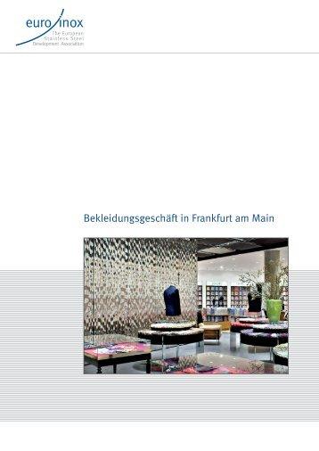Bekleidungsgeschäft in Frankfurt am Main - Euro Inox