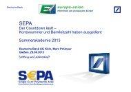 SEPA-Umstellung - Europa-Union Deutschland e.V.
