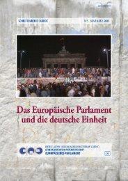 Das Europäische Parlament und die deutsche Einheit - European ...