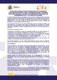 """schlussfolgerung der internationalen konferenz """"inclusive education ..."""