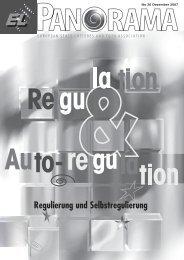 Regulierung und Selbstregulierung - European Lotteries