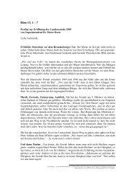 Röm 13, 1 – 7 - Evangelische Kirche von Westfalen