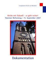 Hammer Reformtag - Evangelische Kirche von Westfalen