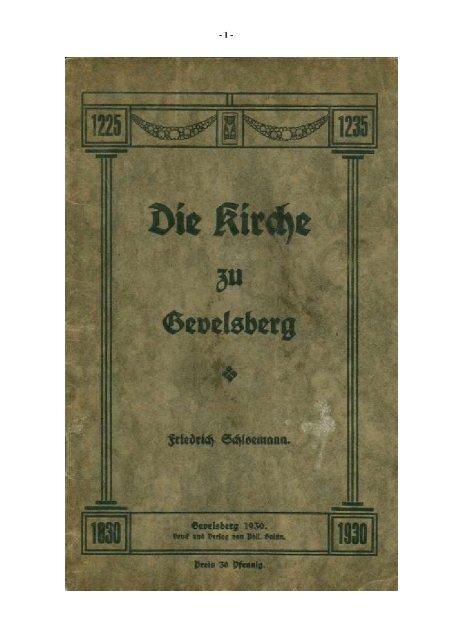 100 Jahre Erlöserkirche - der evangelischen Kirchengemeinde ...