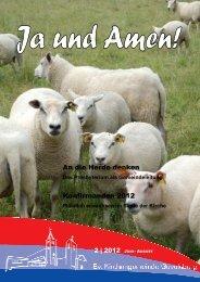 Gemeindebrief 2 2012 - der evangelischen Kirchengemeinde ...