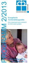 Das Programm als PDF-Datei - Evangelische Kirche Saar