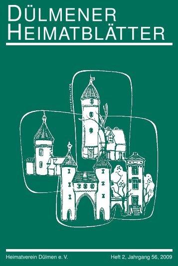 E-Book - Dülmener Heimatblätter