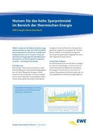 EWE Energie-Check thermisch