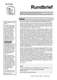 Rundbrief Oktober 2005 [pdf] - Eine Welt Netzwerk Hamburg eV