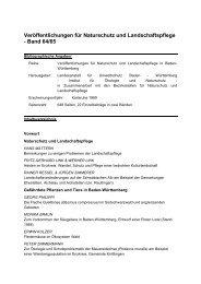 Band 64/65 - Baden-Württemberg