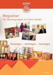 Wegweiser - Fair Trade