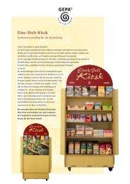 Eine-Welt-Kiosk-Bestückung - Fair Trade