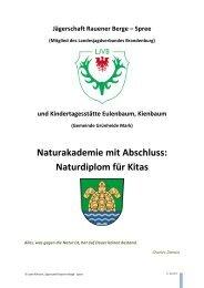 Weitere Informationen... - Lokales Bündnis für Familie Grünheide ...