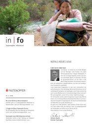 INFO 4 / 09 - Fastenopfer