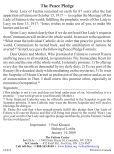 Peace Pledge Prayer Card - Page 2