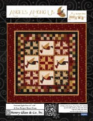 Angels Among Us Quilt - Henry Glass & Co