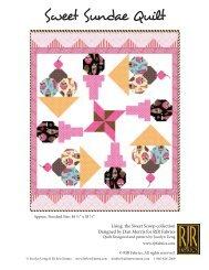 Sweet Sundae by Sew Emma - RJR Fabrics