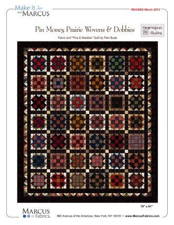 View / Download Pin Money, Prairie Wovens & Dobbies