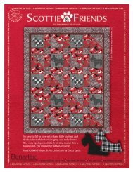 So easy to fall in love with these little scotties and ... - Fat Quarter Shop