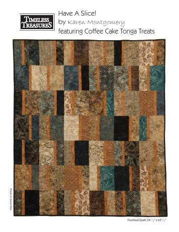 Have A Slice! by Karen Montgomery featuring Coffee ... - Flare Fabrics