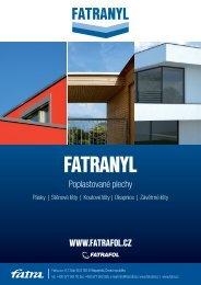 fatranyl-letak - Fatrafol