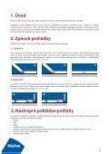 KLADEČSKÝ PŘEDPIS PODLAHOVÝCH DÍLCŮ - Fatra - Page 4