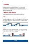 Vorschrift für verlegung und pflege FATRACLICK - Page 4