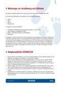 Vorschrift für verlegung und pflege FATRACLICK - Page 5