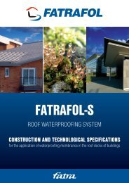 ROOF WATERPROOFING SYSTEM - Fatrafol