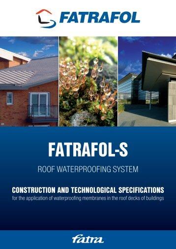 ROOF WATERPROOFING SYSTEM - Fatrafol