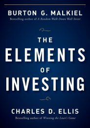 The Elements of Investing - Delphi Forums Mobile