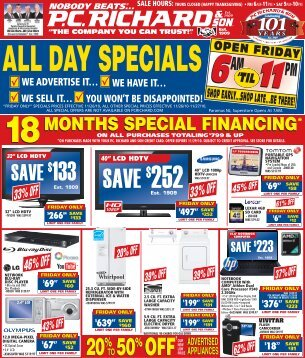 all day specials - FatWallet